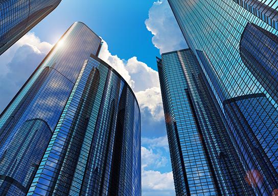 Películas decorativas para edifícios