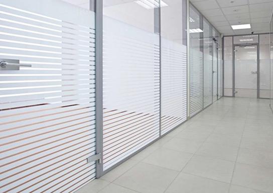 Películas decorativas para escritórios
